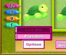 Fluffy Favourites Options Button