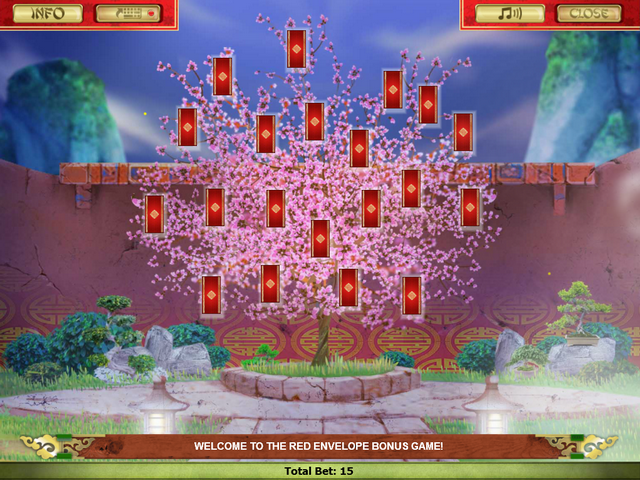 God of Fortune Red Envelope Tree