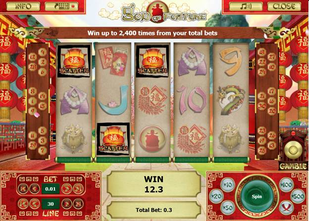 God of Fortune Free Spins