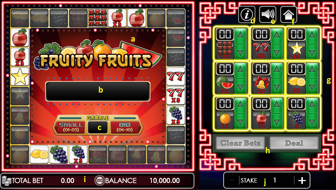 Fruity Fruits user interface.png