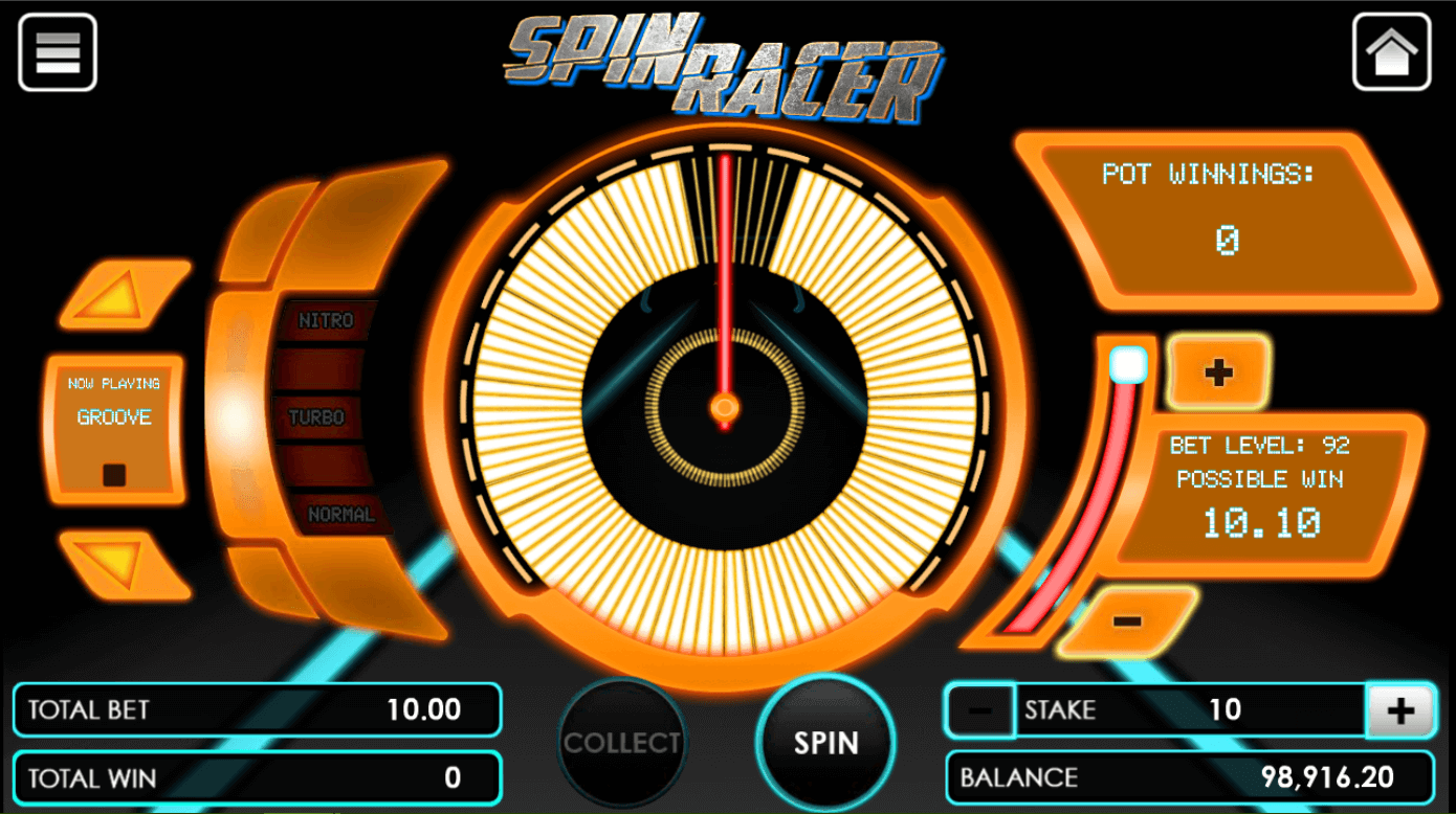 Spin Racer game