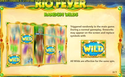 Rio Fever Wild Ginga Random Wilds