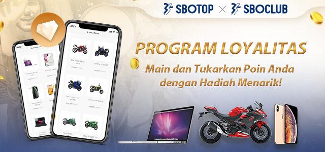 """Persyaratan dan Ketentuan Program Loyalitas SBO Club (""""SBO Rewards"""")"""