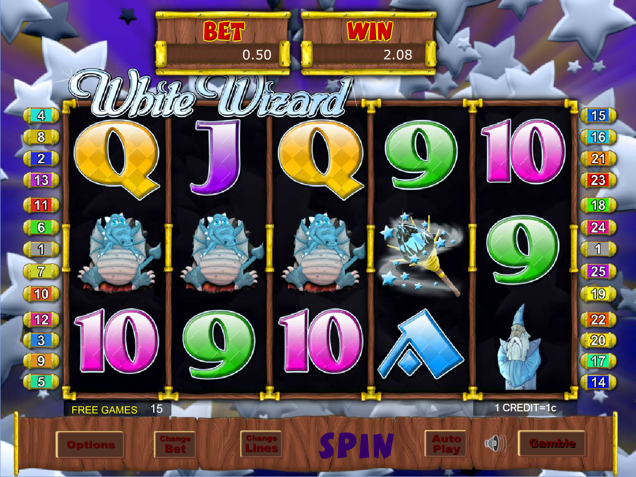 How do I play the free games feature in White Wizard? - SBOBET Information Center