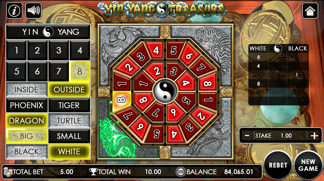 Yin Yang Treasure game after clicking deal button.png