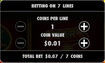 Fire 88 bet amount information