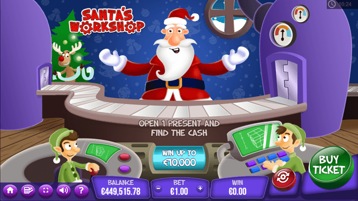 Santas Workshop game scene