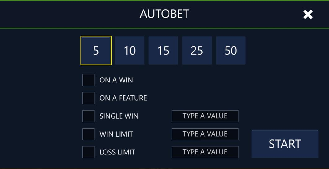 Rumble Rhino autobet settings for mobile