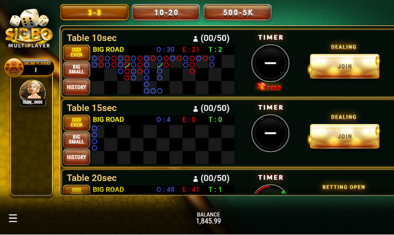 SBOBET Casino Games - Sic Bo Multiplayer Game Table